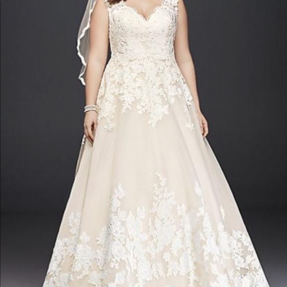 David\'s Bridal Dresses | Davids Bridal Wedding Dress | Poshmark